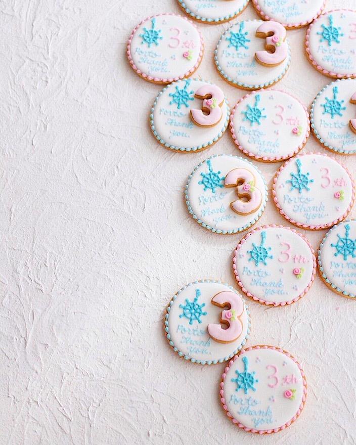 大人可愛いアイシングクッキー