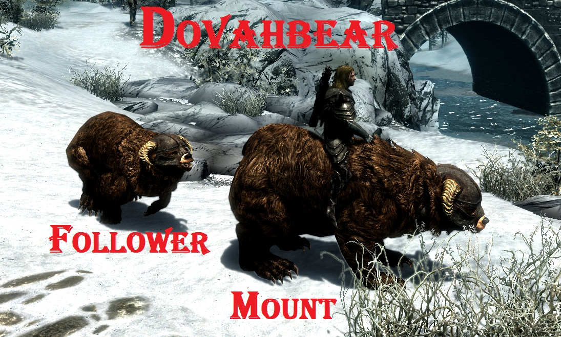 Bears Mounts and Followers SE