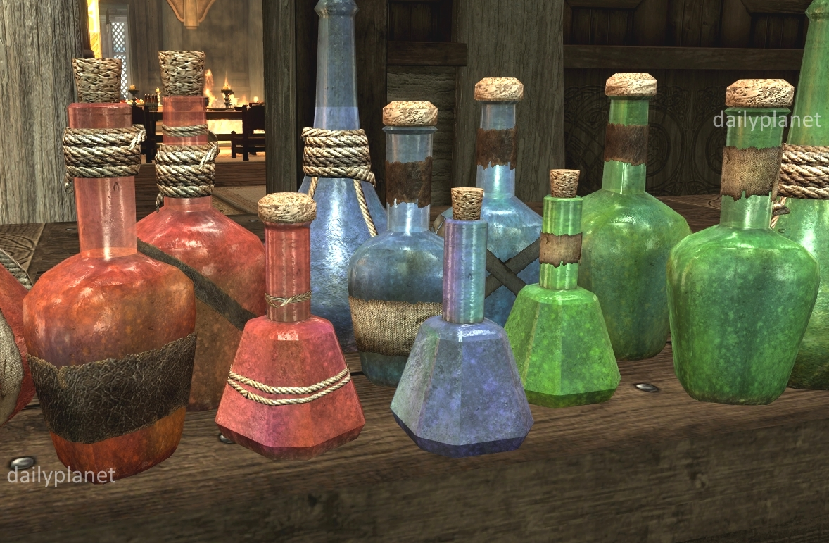 RUSTIC ANIMATED POTIONS and POISONS