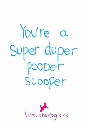 Pooper scooper - dog