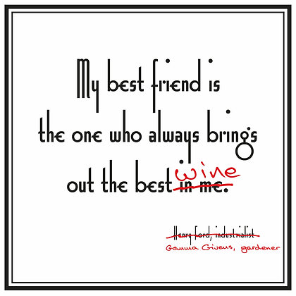 funny henry ford quote about best friend
