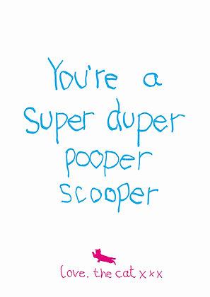 Pooper scooper - cat