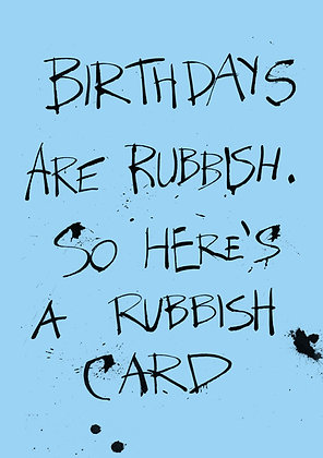 funny and cheap birthday card