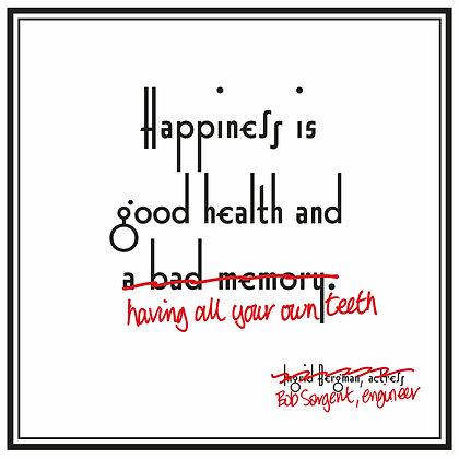 ingrid bergman quote about good health