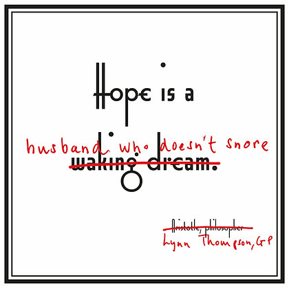 hope quote aristotle funny