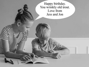 What to write in a 60th birthday card. And other daft ideas you can find on the internet.