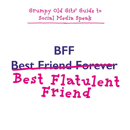 BFF best friend forever funny fart joke greeting card