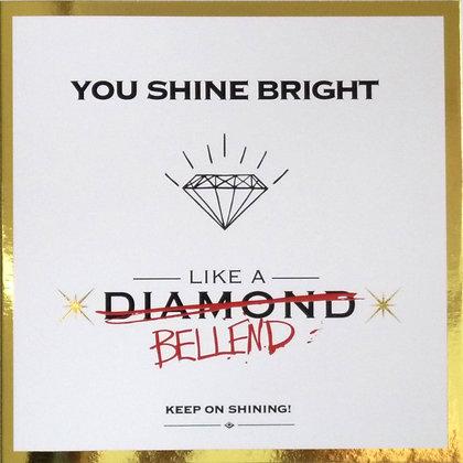 funny diamond special bellend card