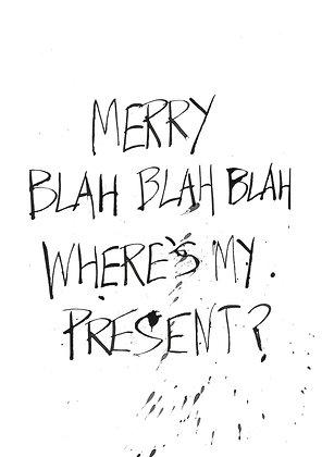 where's my christmas present