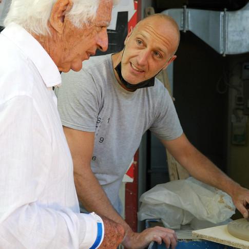 Cleto Munari e Lorenzo Zanovello