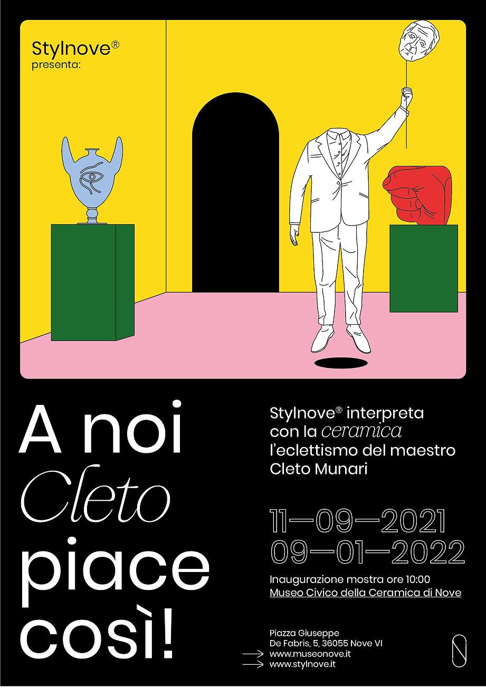 Cleto Munari mostra Museo di Nove