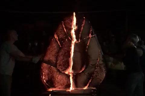 Festa della Ceramica di Nove, Andrea Dal Prà con l'aiuto di Made in Nove in Stylnove
