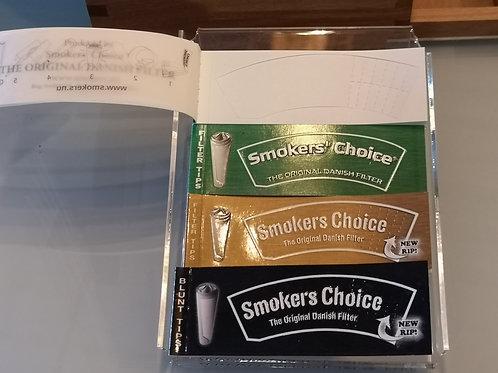 smokers choice green, gold,black