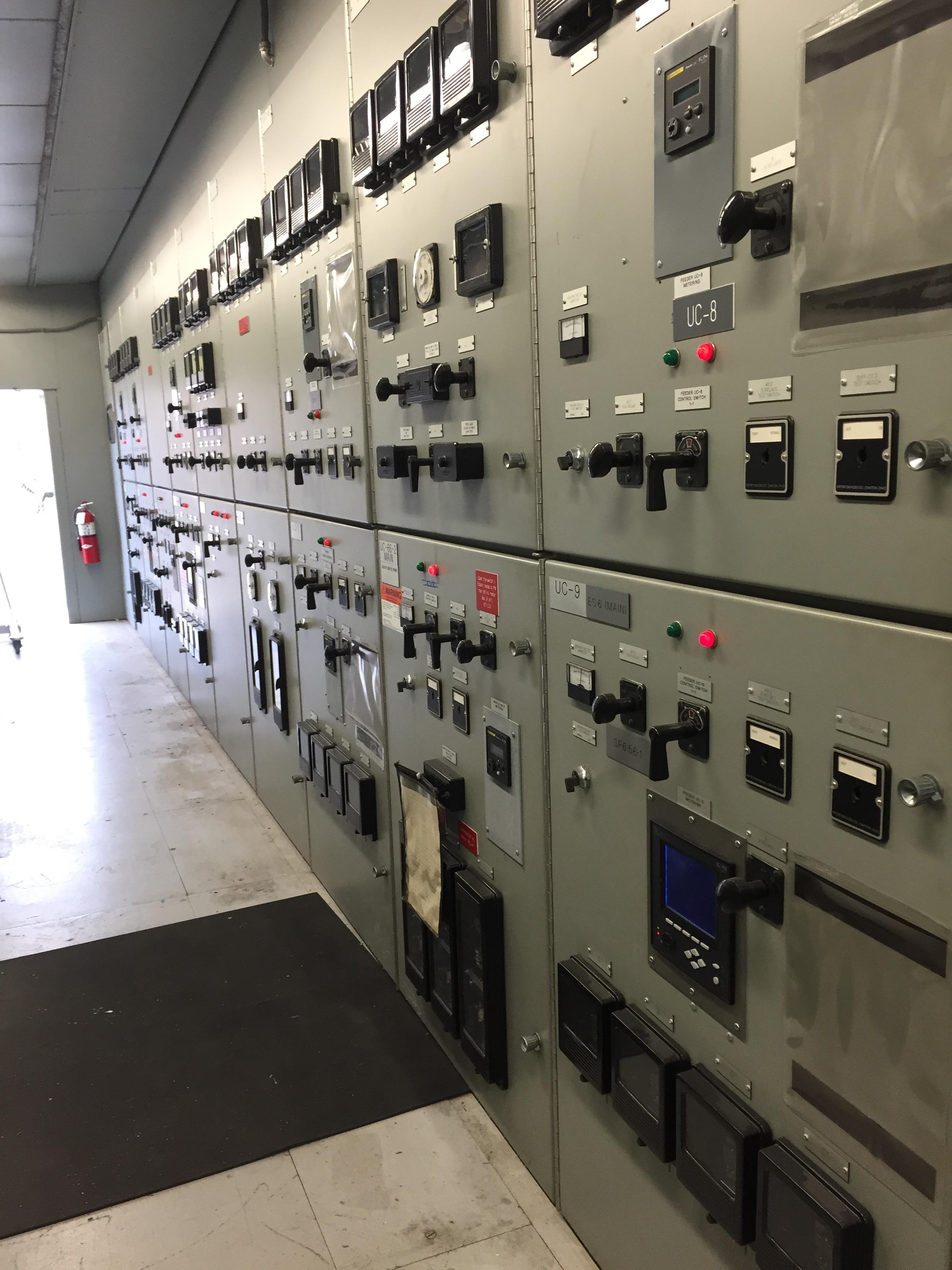 UCI Microgrid Substation