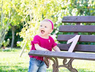 ensaio infantil de 1 aninho