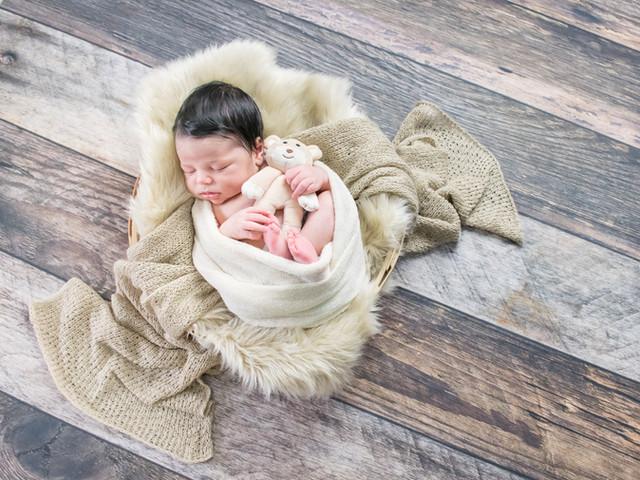 ensaio newborn em casa