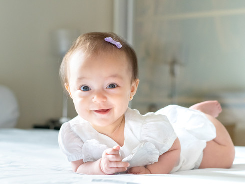 ensaio de acompanhamento mensal de bebês
