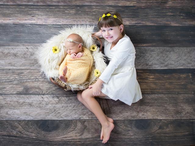 ensaio newborn com familia