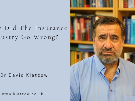 Where Did The Insurance Industry Go Wrong?