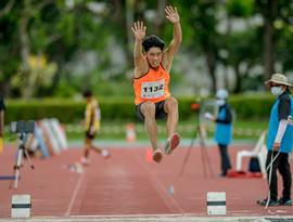 Long Jump Winner