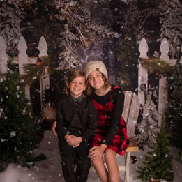 Holiday Portraits  A walk in the pines Modesto CA