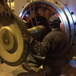 installation float of rotor