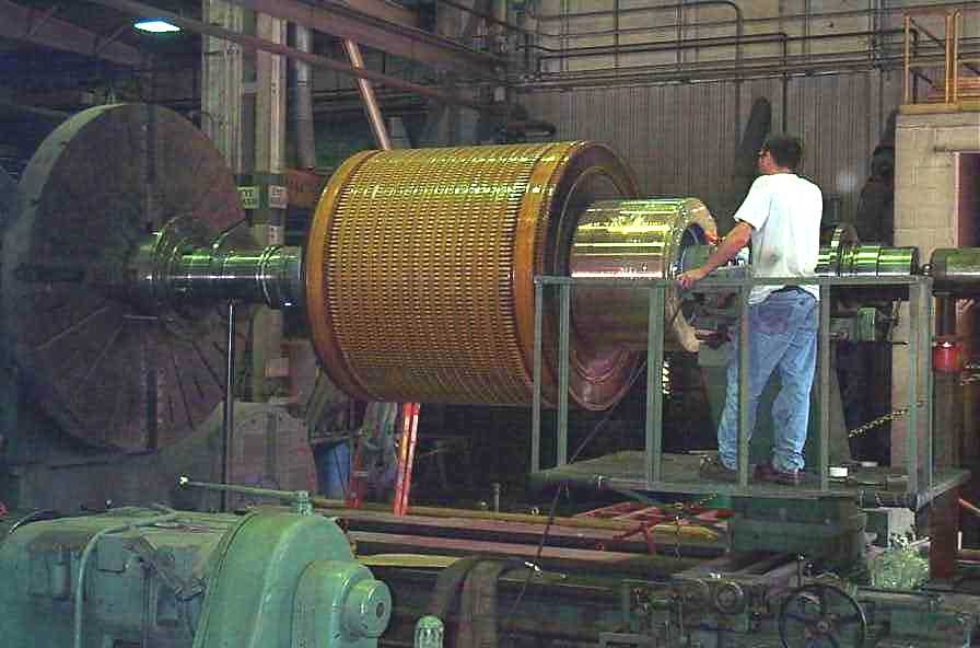4,000hp dc armature