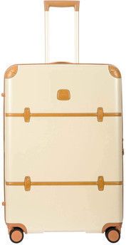 Beige and Brown Luggage