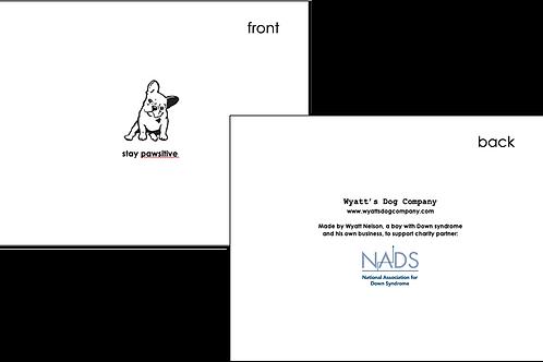 Set of 10 Folded Notecards