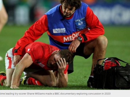Head impact study releases details on cognitive function in rugby players