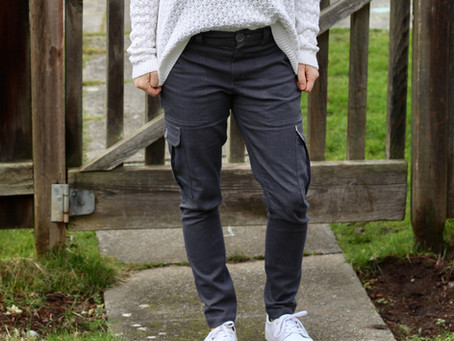 I made pants, like REAL pants!