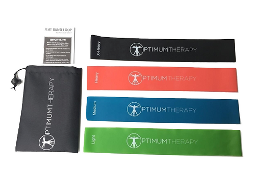 Optimum Therapy Resistance Bands - 4 Pack