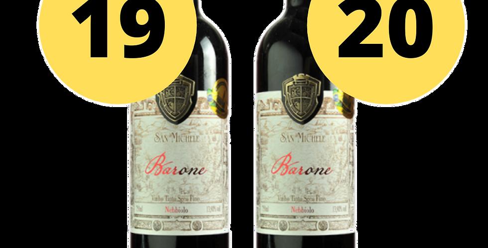 San Michele Barone 2019/2020 Degustação Vertical