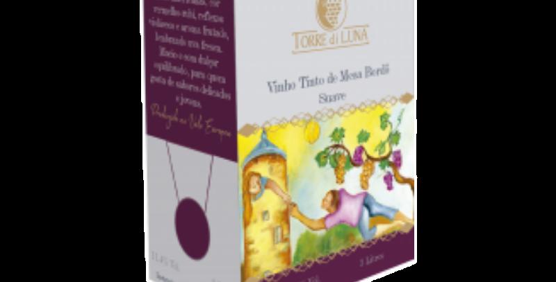San Michele Torre di Luna Tinto Suave Bag in Box 3 Litros