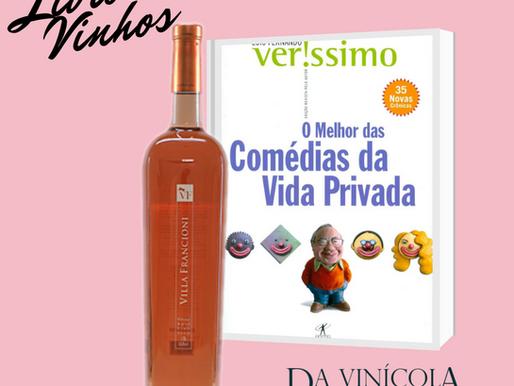 Vinhos + Livros: é hora de rir com melhor da comédia brasileira e o melhor Rosé