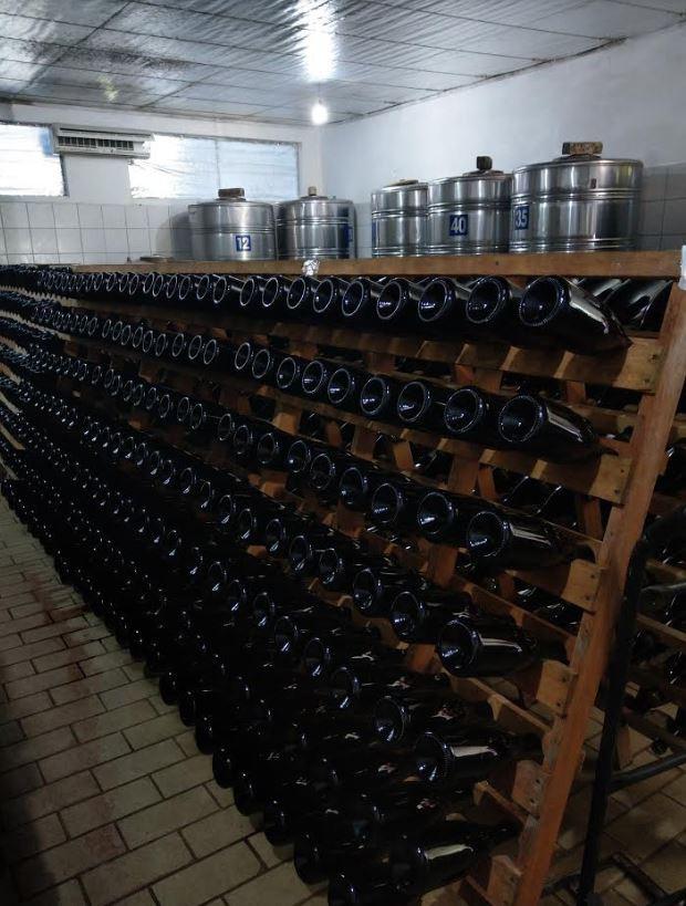 envelhecimento do vinho