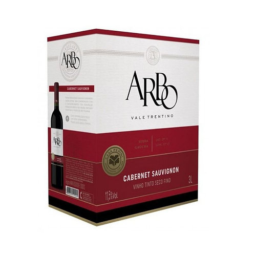 Arbo Cabernet Sauvignon Vinho Tinto Seco 3L