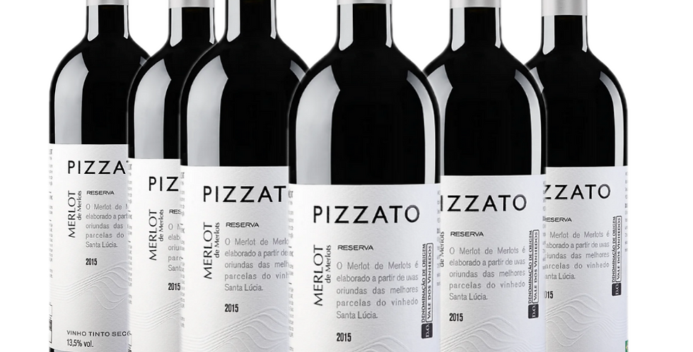 Combo Pizzato Merlot Reserva 2018