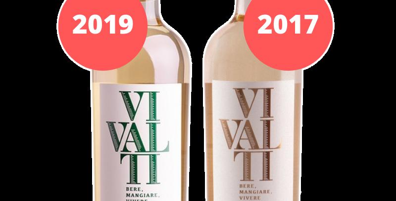 Vivalti Sauvignon Blanc Degustação Vertical