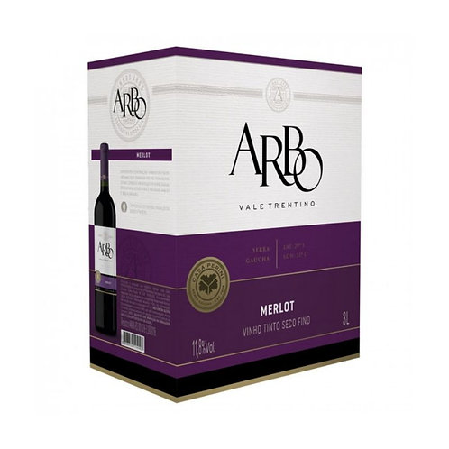 Arbo Merlot Vinho Tinto Seco 3L