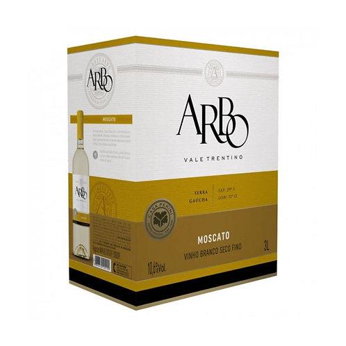 Arbo Moscato Vinho Fino Branco Seco 3L