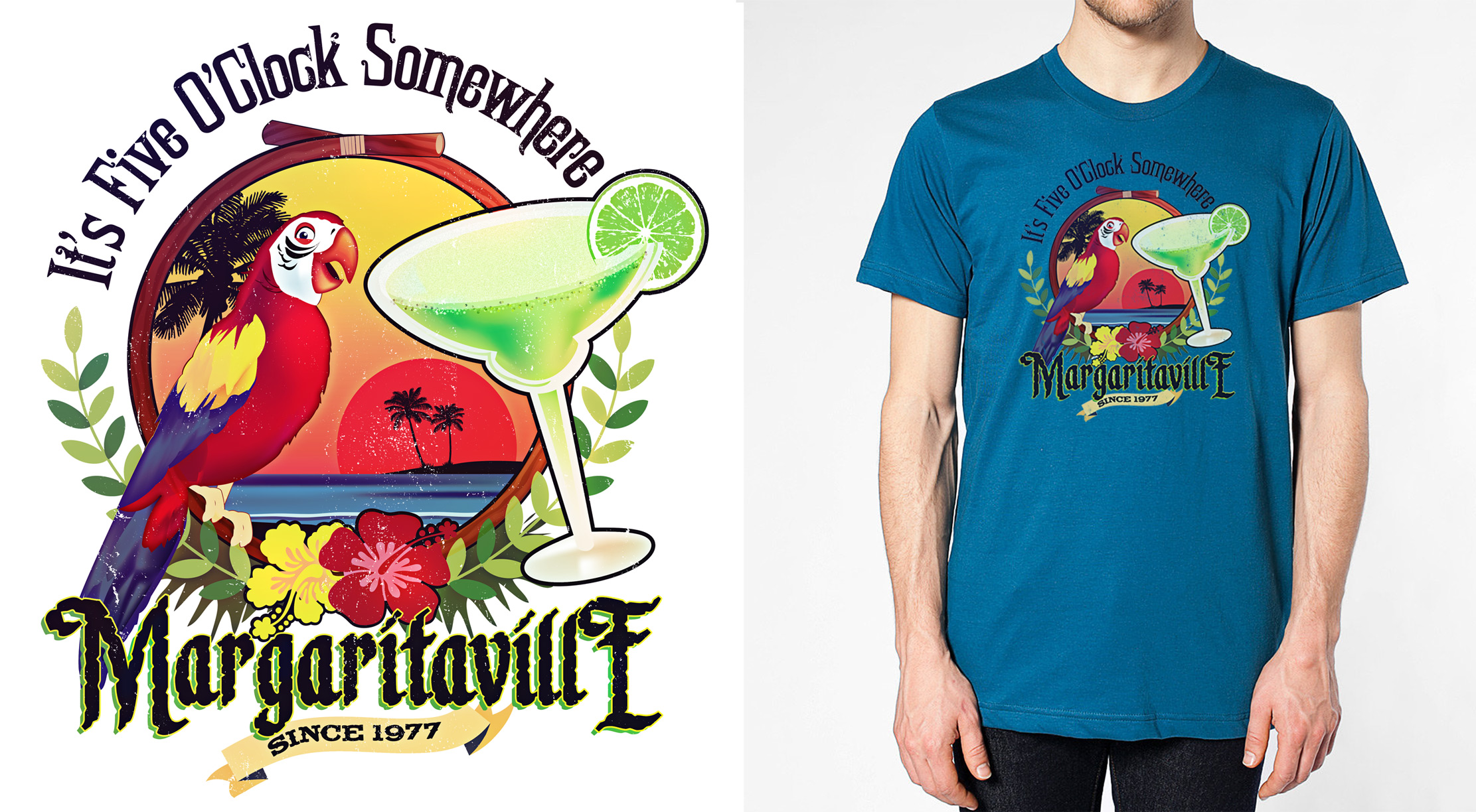 Margaritaville Trial shirt