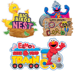 Sesame Street Ride Main ID Concepts