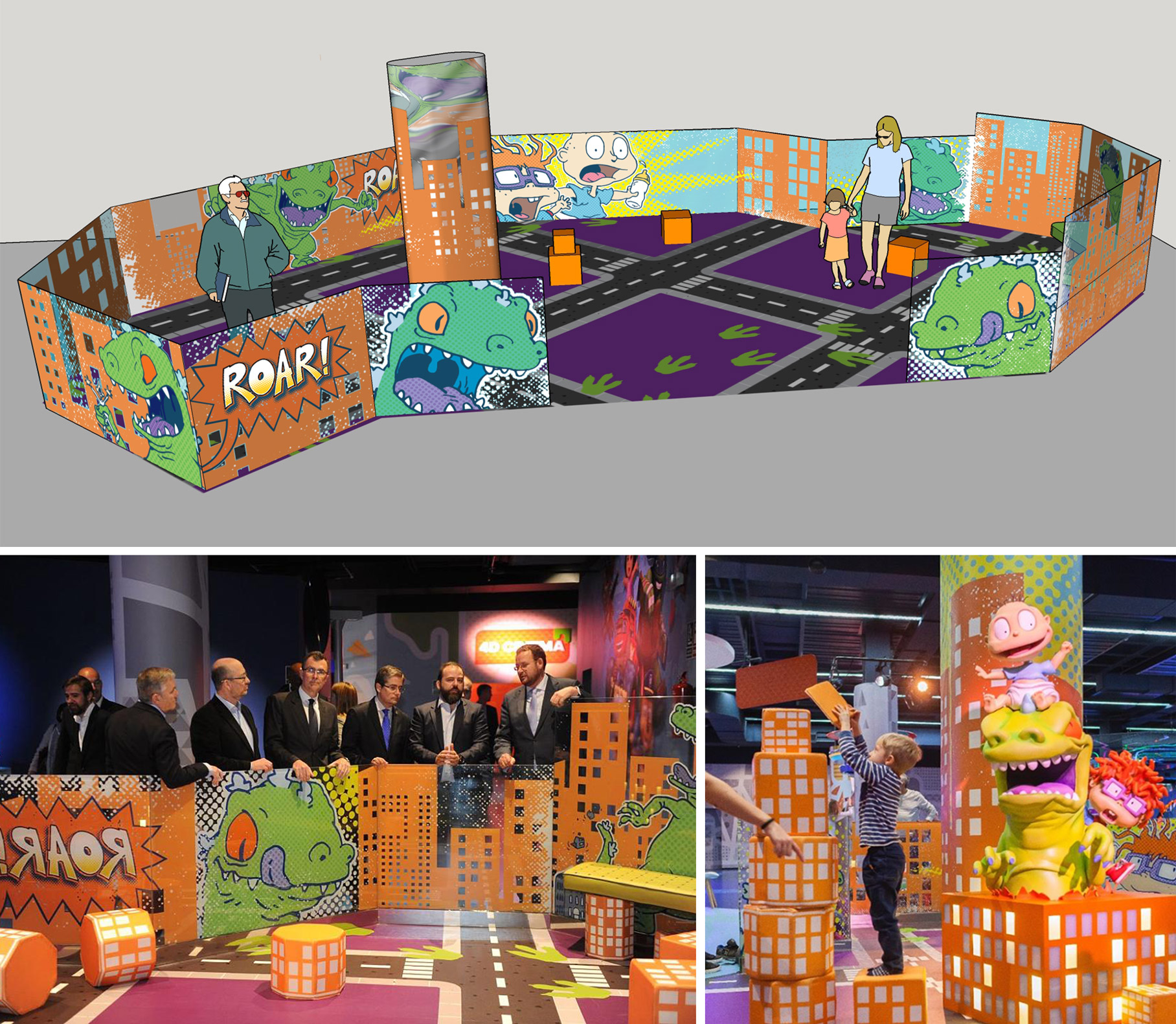Rugrat's Reptar Play area