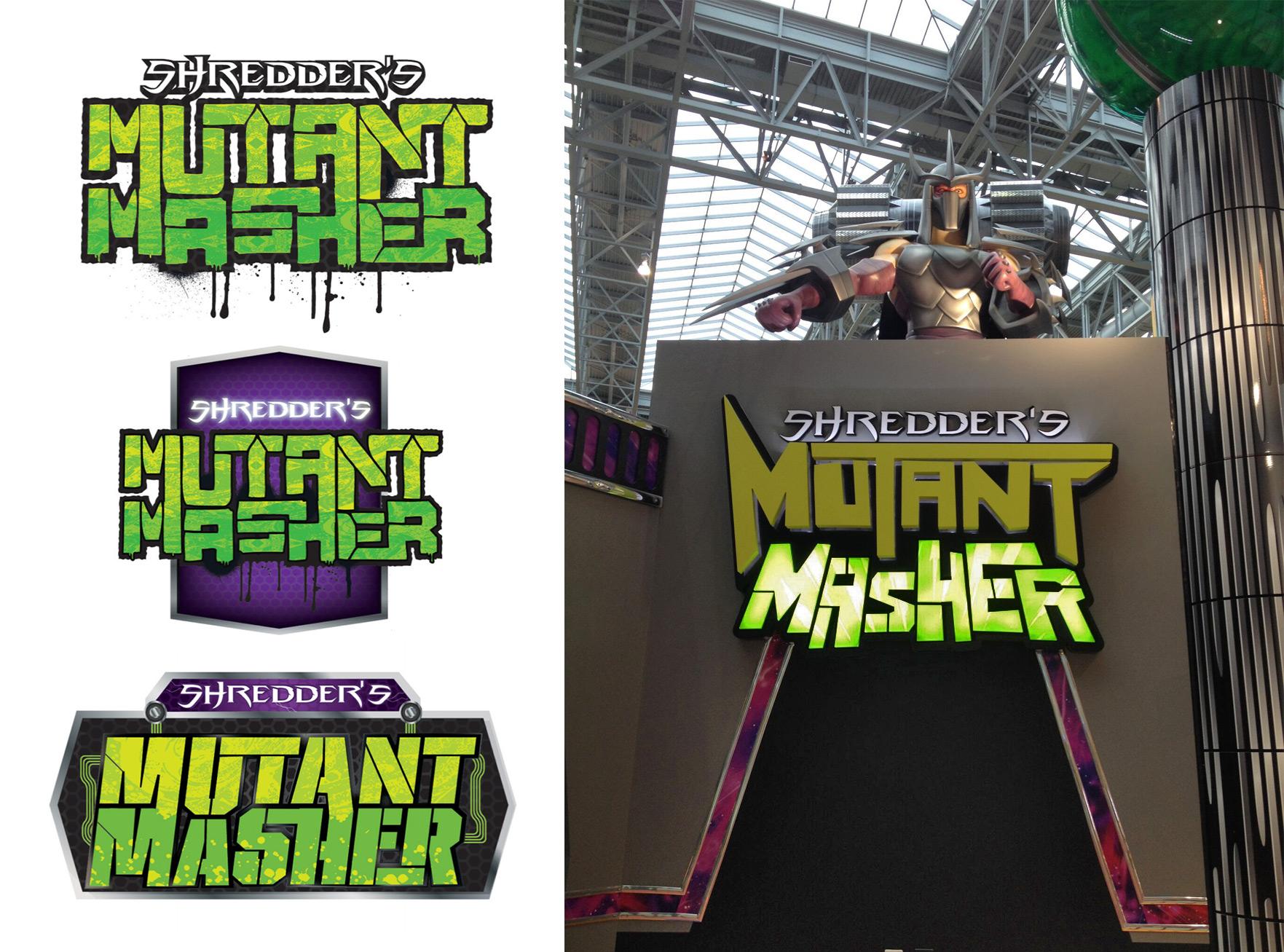 TMNT Mutant Masher I.D. Sign