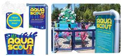 Aqua Scout Sign (SW San Diego)