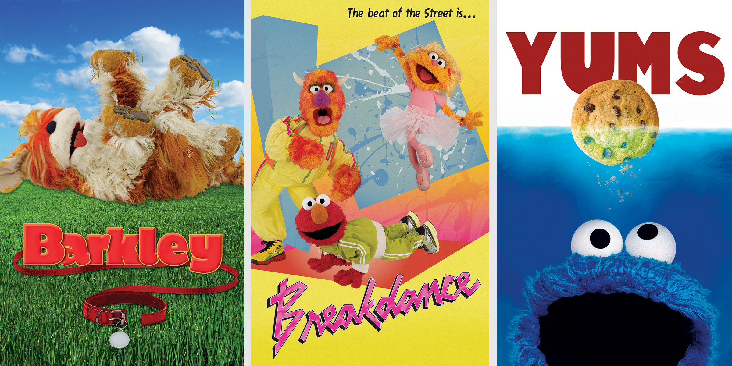 Sesame Movie Inspired Posters