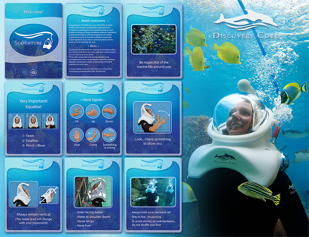 Discovery Cove SeaVenture Safety Regulations