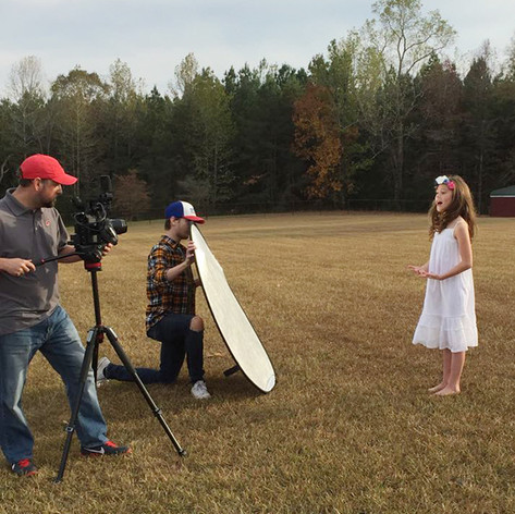 The making of Angel On My Shoulder video
