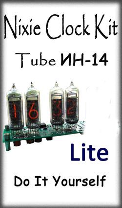Nixie Kit IN14 4-Tube Lite